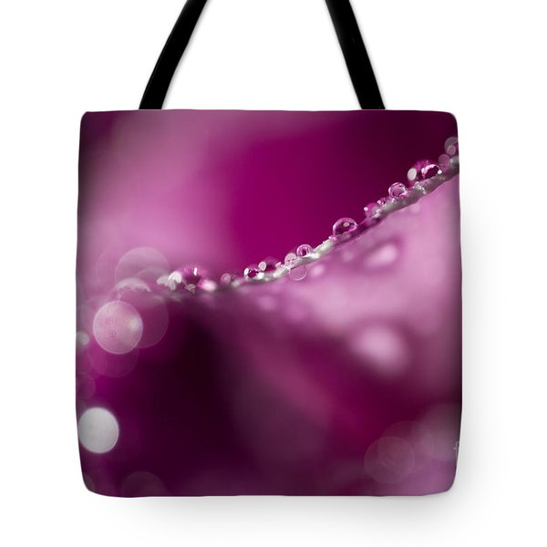 Flower Tote Bag by Christine Sponchia