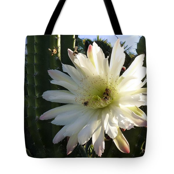 Flowering Cactus 1 Tote Bag