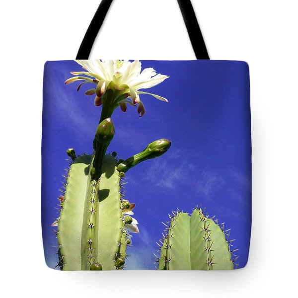 Flowering Cactus 2 Tote Bag