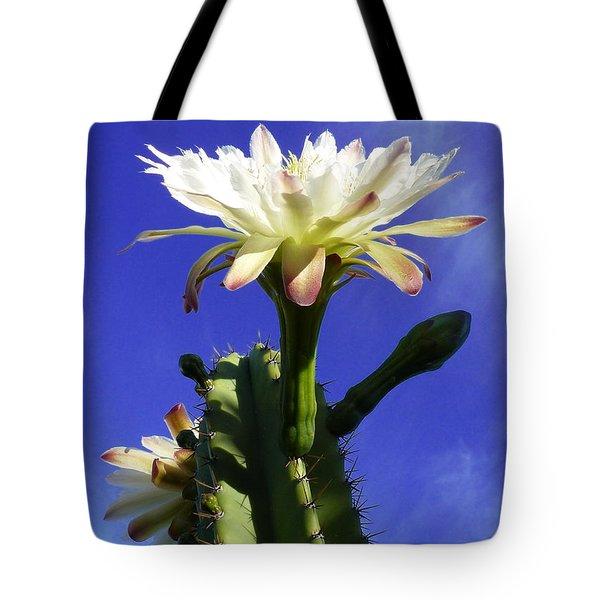 Flowering Cactus 3 Tote Bag