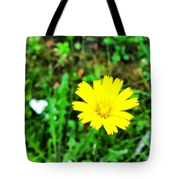 Yellow Flower Tote Bag by Jason Michael Roust