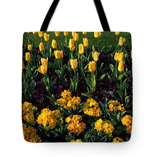 Flowers In Hyde Park, City Tote Bag