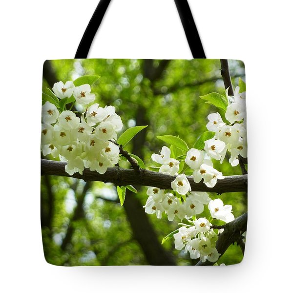 Flowers In The Spring Tote Bag by Mike Ste Marie