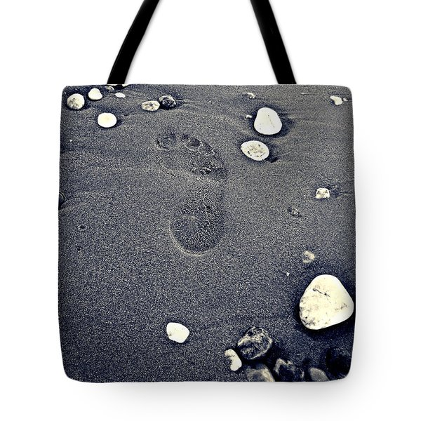 Tote Bag featuring the photograph Footprint by Nina Ficur Feenan