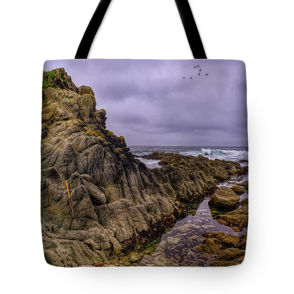 Force Of Tides Tote Bag