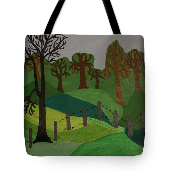 Forest Moderna Tote Bag