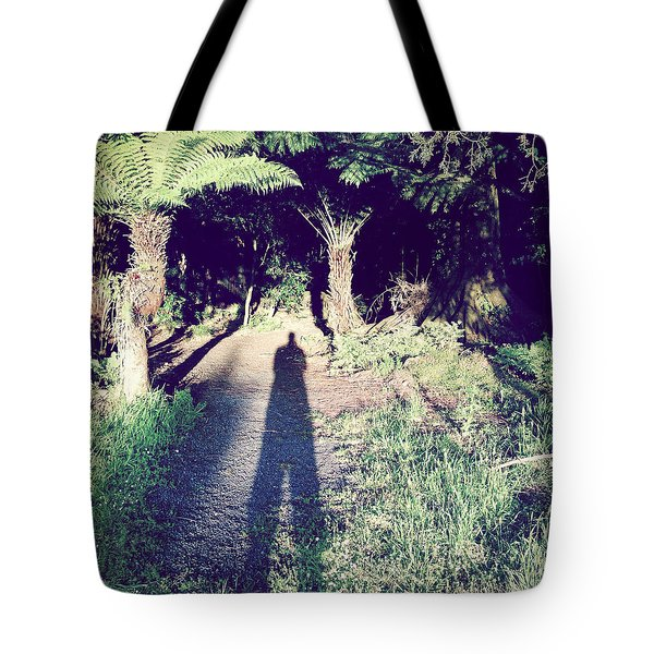Forest Shadow Tote Bag by Les Cunliffe