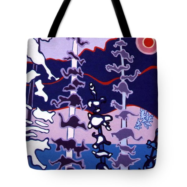 Forest's Glow Tote Bag by Joyce Gebauer