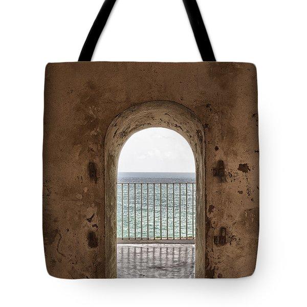 Fort Castillo San Felipe Del Morro Tote Bag