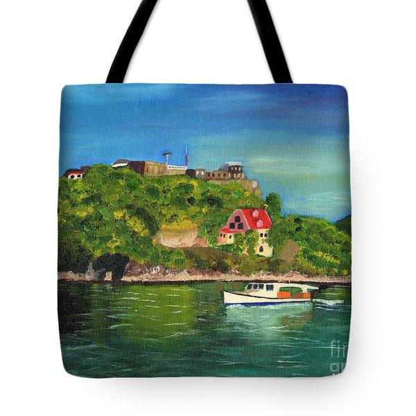 Fort George Grenada Tote Bag by Laura Forde