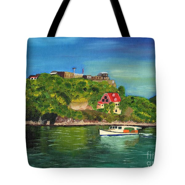 Fort George Grenada Tote Bag