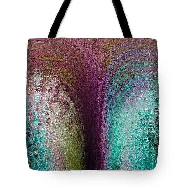 Fountain Art Tote Bag by David Pyatt