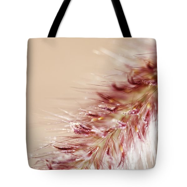 Fountain Grass Blooms   Tote Bag