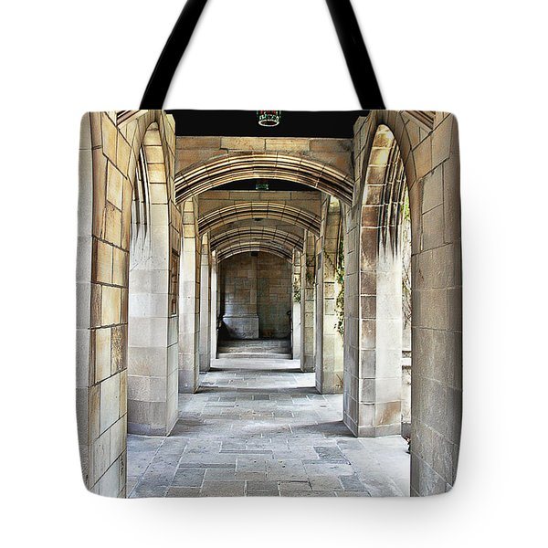 Fourth Presbyterian Church Chicago Tote Bag by Christine Till