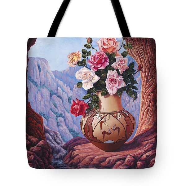 Fragrance And Dew Tote Bag by Ricardo Chavez-Mendez