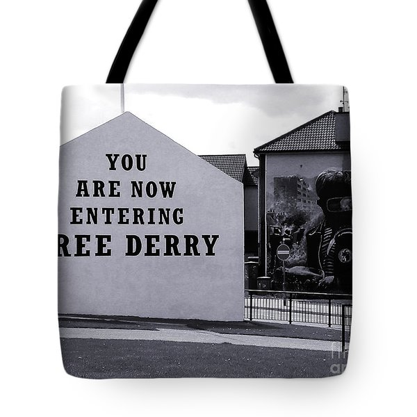 Free Derry Corner Tote Bag by Nina Ficur Feenan