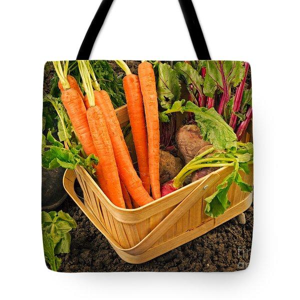 Fresh Garden Vegetables Tote Bag