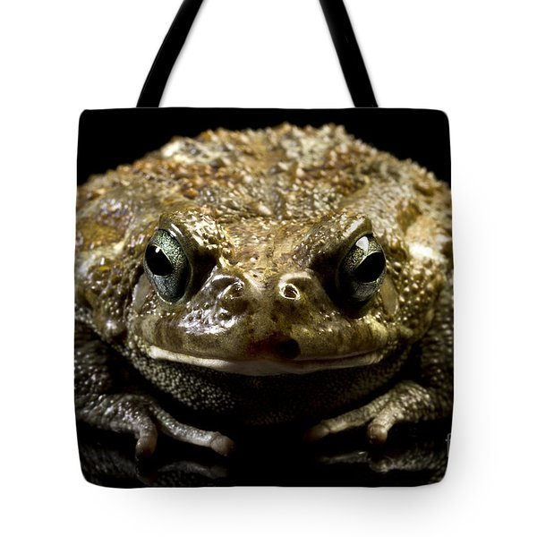 Frog Tote Bag by Gunnar Orn Arnason