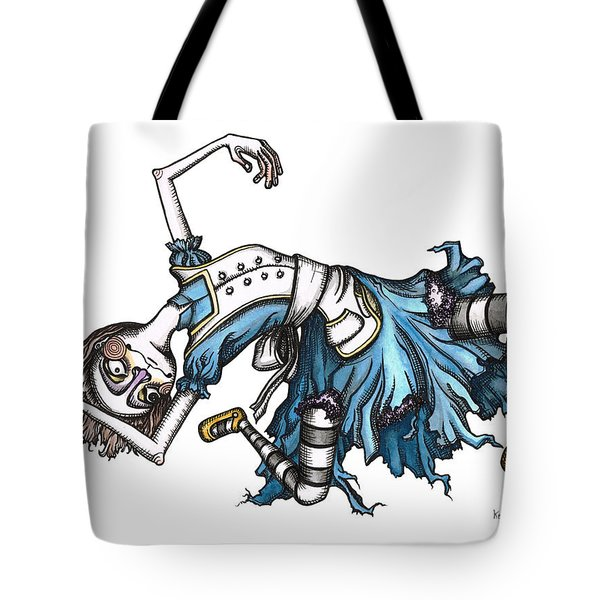 From Way Down In The Hole Tote Bag by Kelly Jade King