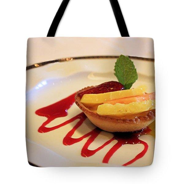 Fruit Tart Tote Bag by Kristin Elmquist