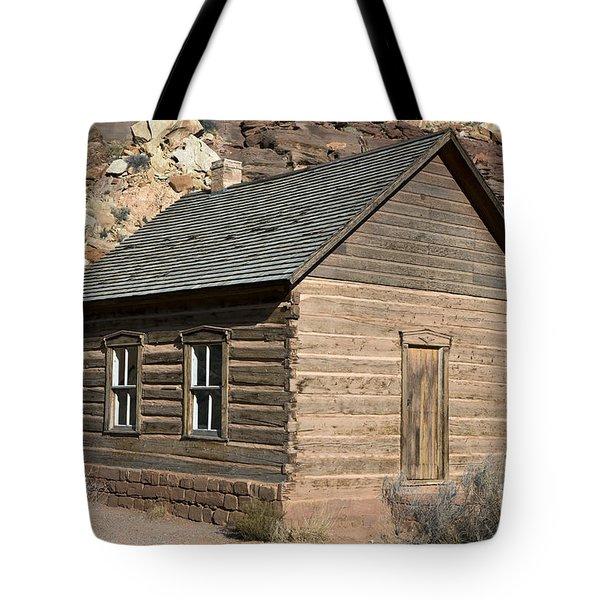 Frutia Schoolhouse Capitol Reef National Park Utah Tote Bag by Jason O Watson