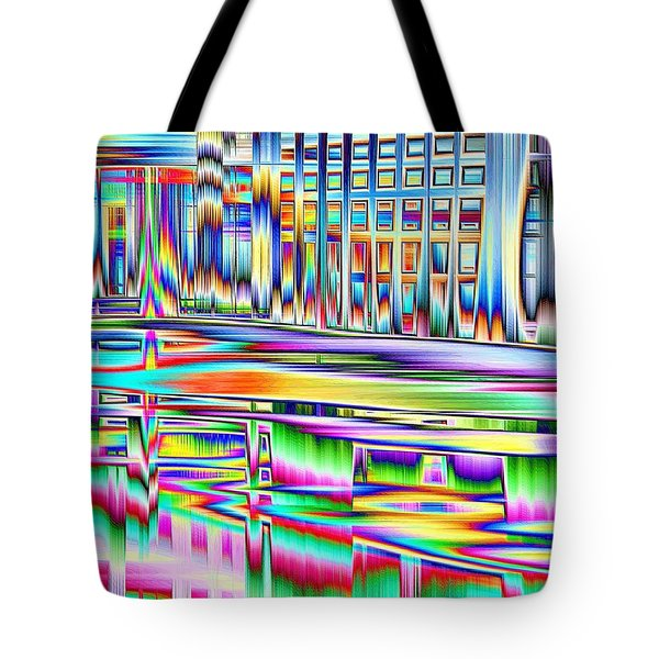 Tote Bag featuring the photograph Full Dance Card by Nick David