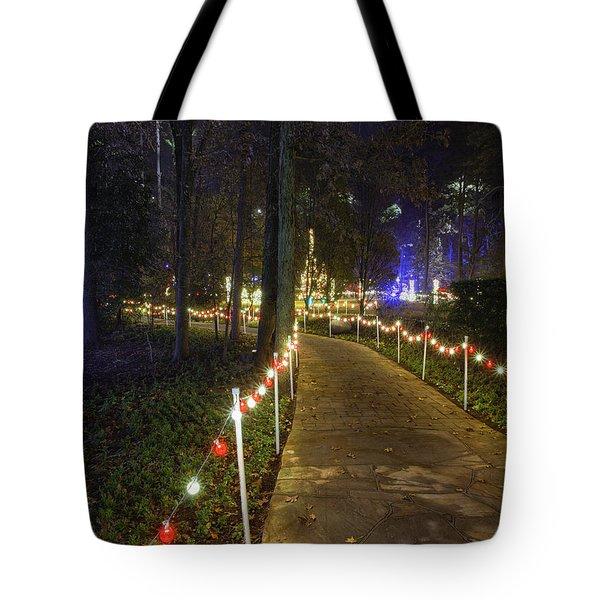Long Path Tote Bag