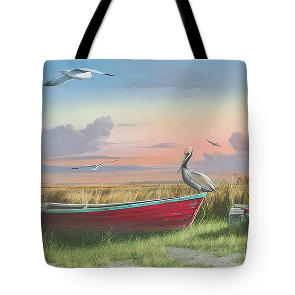 Gathering At Sunrise Tote Bag