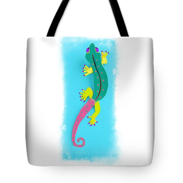 Gecko Two Tote Bag