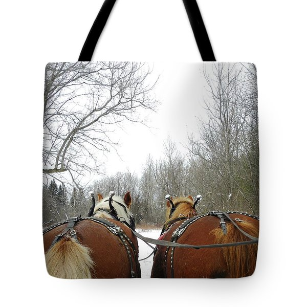 Gee And Haw Tote Bag