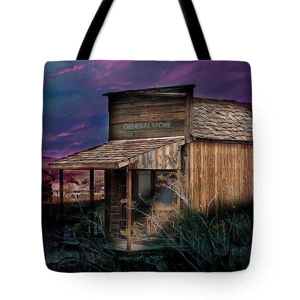 General Store Tote Bag by Gunter Nezhoda