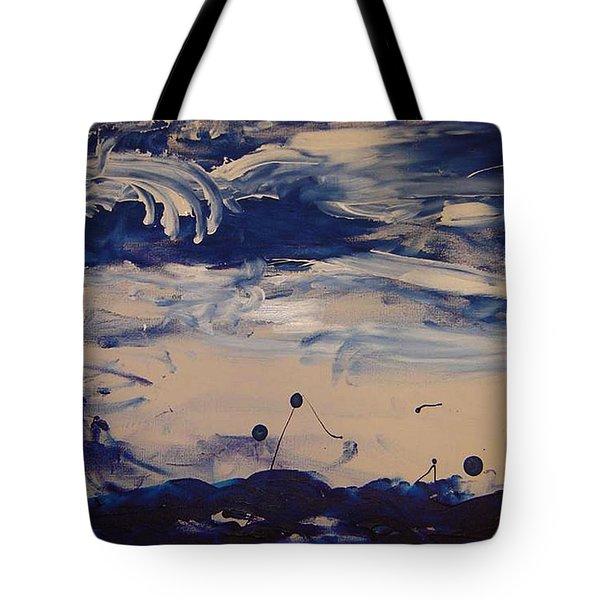 Genesis I Tote Bag by Luz Elena Aponte