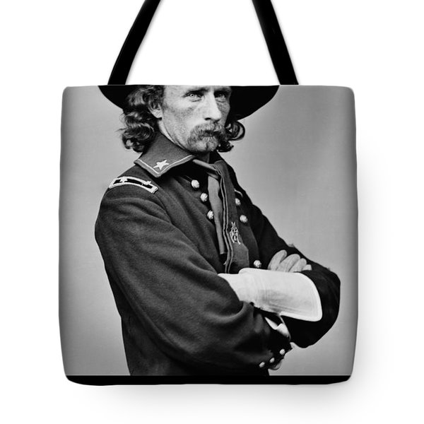 George Armstrong Custer Tote Bag