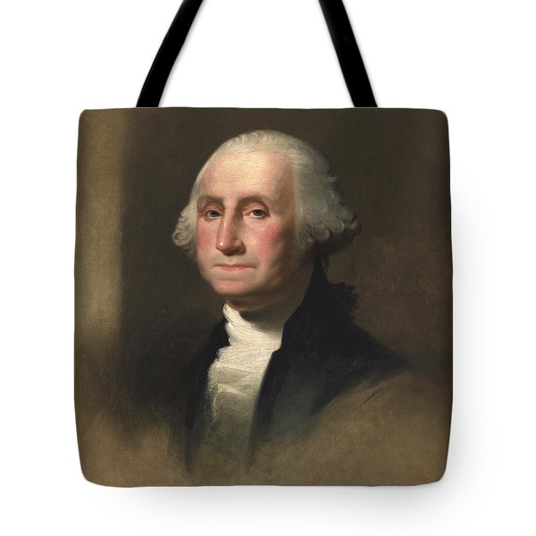 George Washington Tote Bag by Rembrandt Peale
