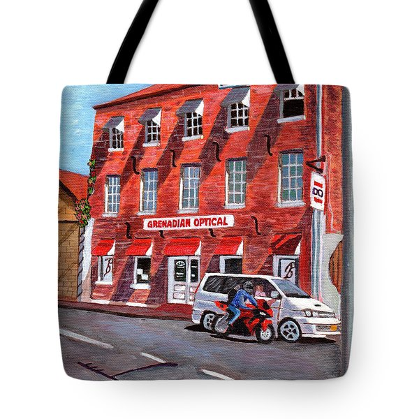 Georgian Style Tote Bag by Laura Forde