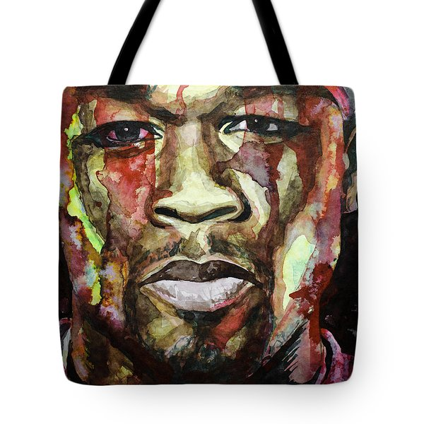 Tote Bag featuring the painting Get Rich Or Die Tryin' by Laur Iduc