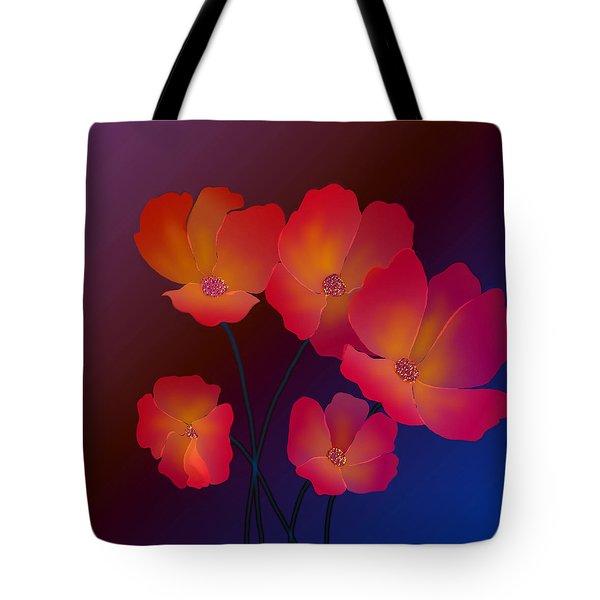 Tote Bag featuring the digital art Glorious by Latha Gokuldas Panicker