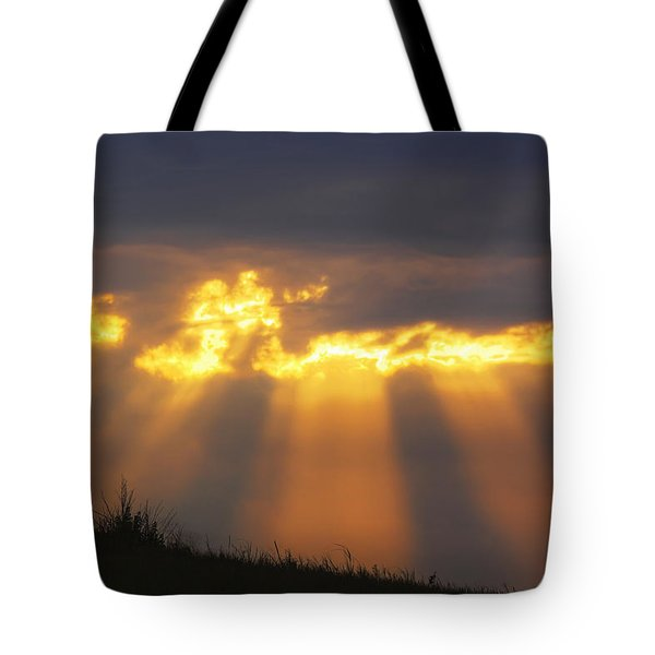 Tote Bag featuring the photograph Glorious Sunrise by Rob Graham