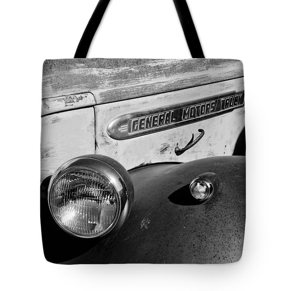 Gmc Truck Side Emblem Tote Bag by Jill Reger