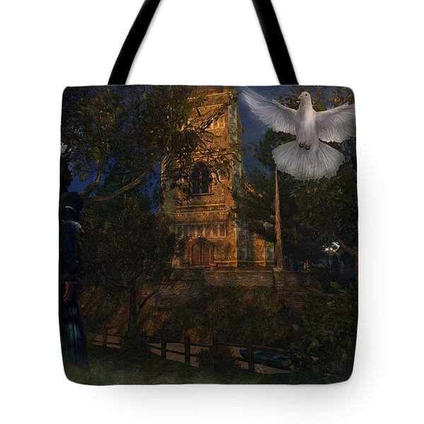 Goatswood Cathedral Tote Bag by Kylie Sabra