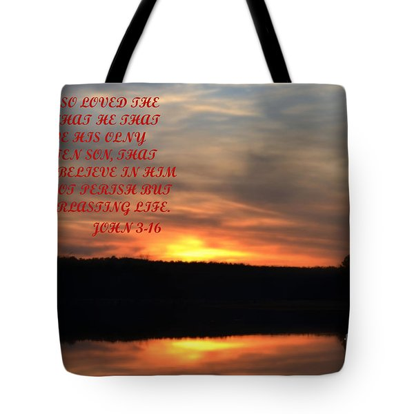 God Only Son Tote Bag