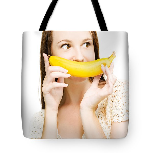 Going Fruity And Bananas Tote Bag