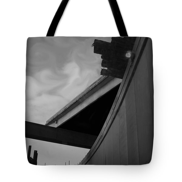 Tote Bag featuring the photograph Going Under by Jamie Lynn