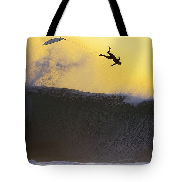 Gold Leap Tote Bag by Sean Davey