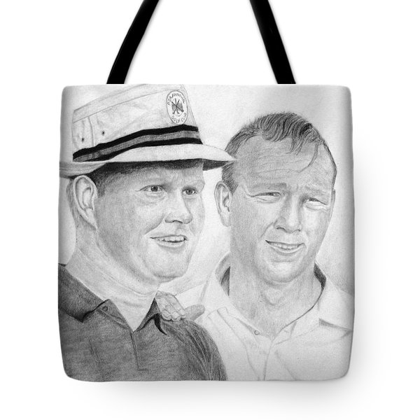 Golden Bear And The King Tote Bag by Steve Keller