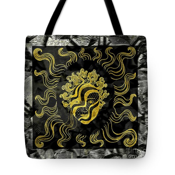 Tote Bag featuring the photograph Golden God by Nareeta Martin