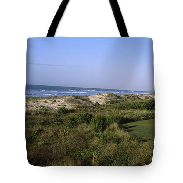 Golf Course At The Seaside, Kiawah Tote Bag