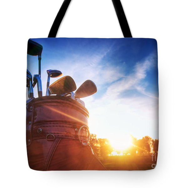 Golf Gear Tote Bag by Michal Bednarek