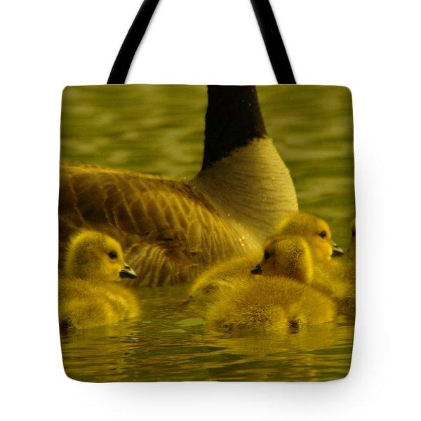 Goslings Tote Bag