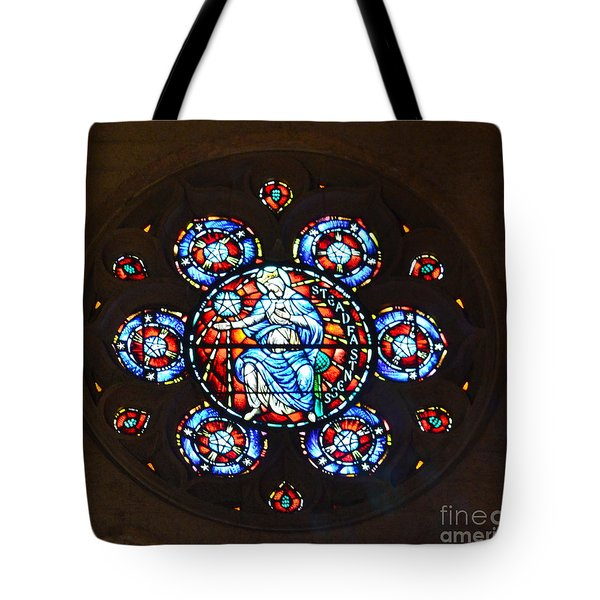Grace Cathedral Tote Bag by Dean Ferreira